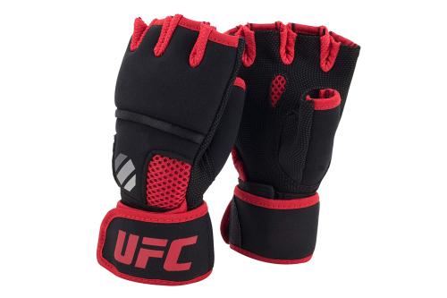 UFC Contender Quick Wrap Binnenhandschoenen Zwart/Rood L/XL