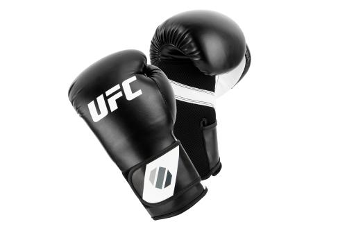 UFC Training Gants De (Kick)Boxe Noir/Blanc 6oz
