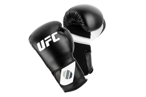 UFC Training (Kick)bokshandschoenen Zwart/Wit 8oz
